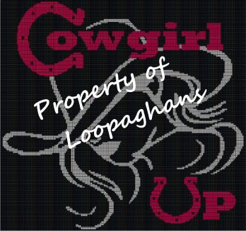 Cowgirl Up Crochet Pattern Afghan Graph