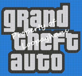 Grand Theft Auto Crochet Pattern Afghan Graph