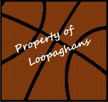 Basketball Crochet Pattern Afghan Graph