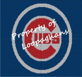 Chicago Cubs Crochet Pattern Afghan Graph