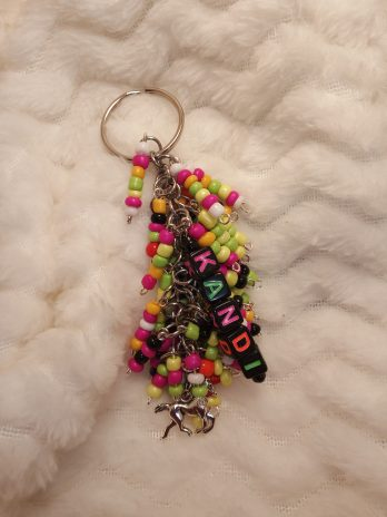 Rave Kandi Beaded Key Ring