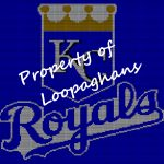Kansas City Royals Crochet Pattern Afghan Graph